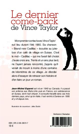 4eme Le dernier come-back de Vince Taylor