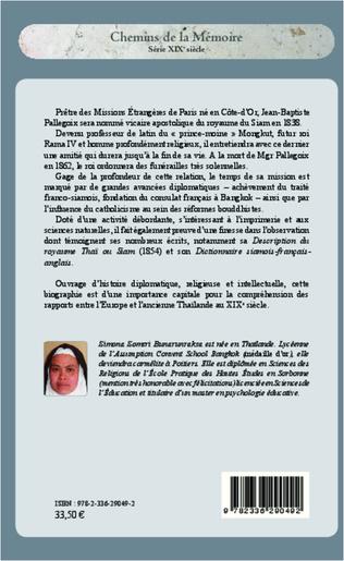 4eme Monseigneur Jean-Baptiste Pallegoix