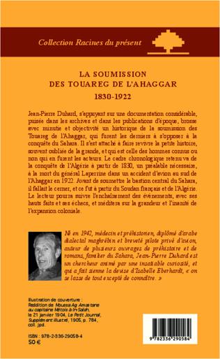 4eme La soumission des Touareg de l'Ahaggar 1830-1922
