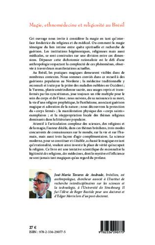 4eme Magie, ethnomédecine et religiosité au Brésil