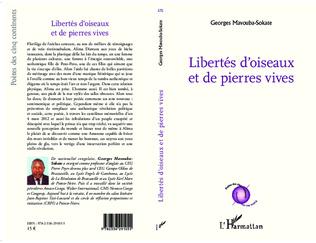 4eme Libertés d'oiseaux et de pierres vives