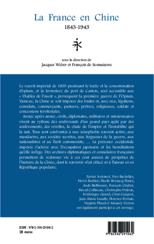 4eme La France en Chine 1843-1943