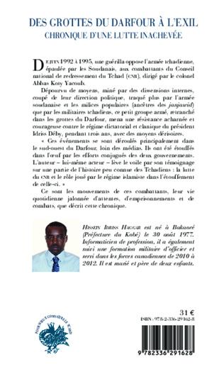 4eme Des grottes du Darfour à l'exil