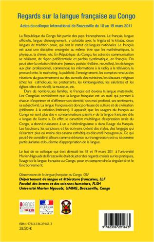 4eme Regards sur la langue française au Congo