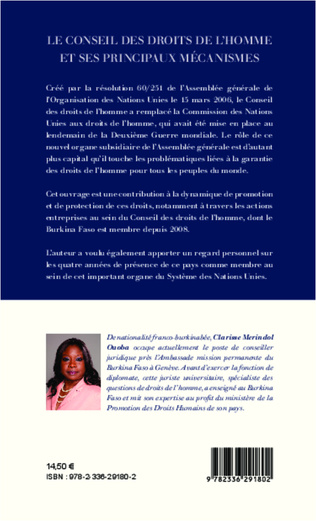 4eme Le Conseil des droits de l'homme et ses principaux mécanismes