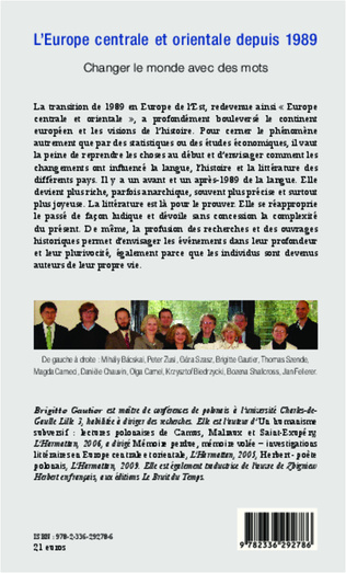 4eme Europe centrale et orientale depuis 1989