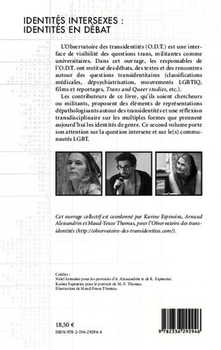 4eme Identités intersexes : identités en débat