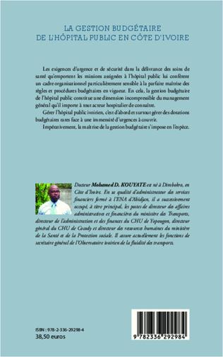 4eme La gestion budgétaire de l'hôpital public en Côte d'Ivoire