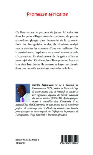 4eme Promesse africaine