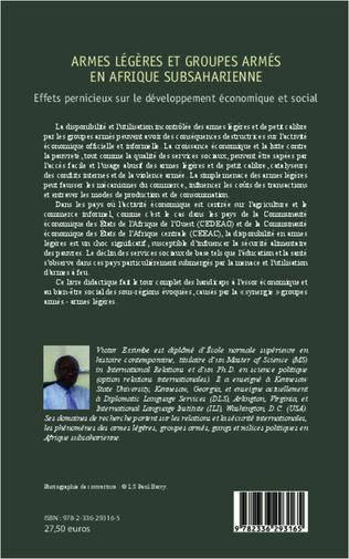 4eme Armes légères et groupes armés en Afrique subsaharienne