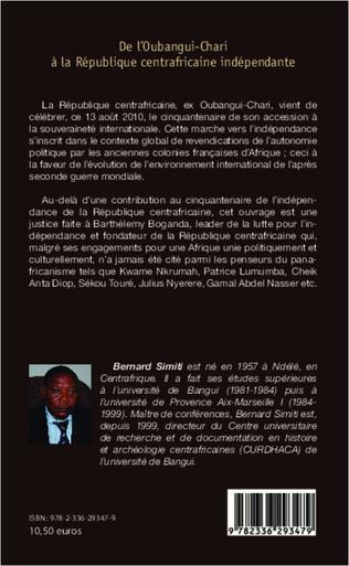 4eme De l'Oubangui-Chari à la République centrafricaine indépendante