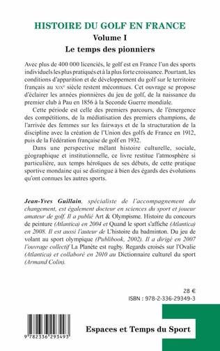 4eme Histoire du golf en France
