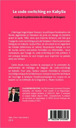 4eme Le code-switching en Kabylie