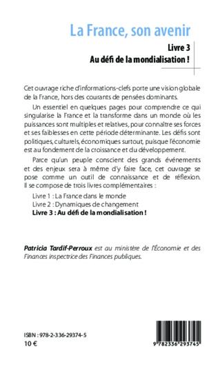 4eme La France, son avenir (Livre 3)