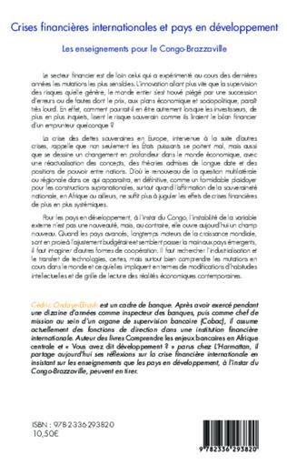 4eme Crises financières internationale et pays en développement