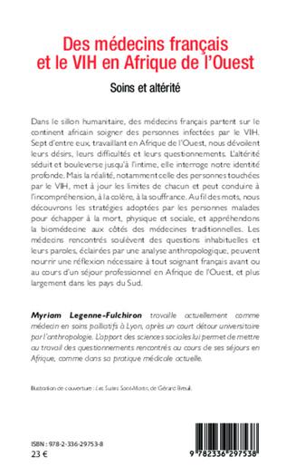 4eme Des médecins français et le VIH en Afrique de l'Ouest