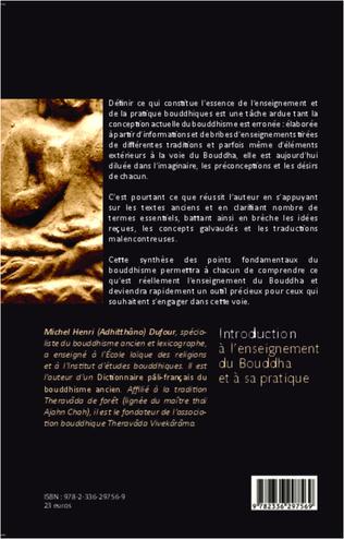 4eme Introduction à l'enseignement du Bouddha et à sa pratique