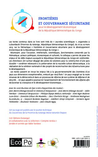4eme Frontières et gouvernance sécuritaire