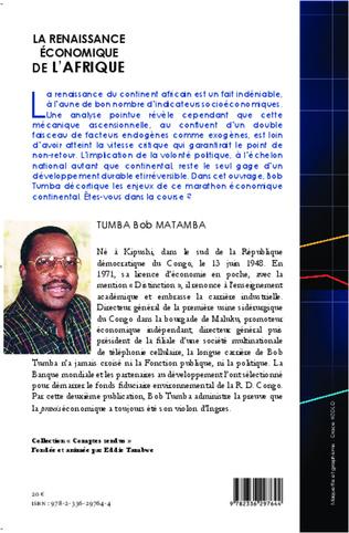 4eme La renaissance économique de l'Afrique