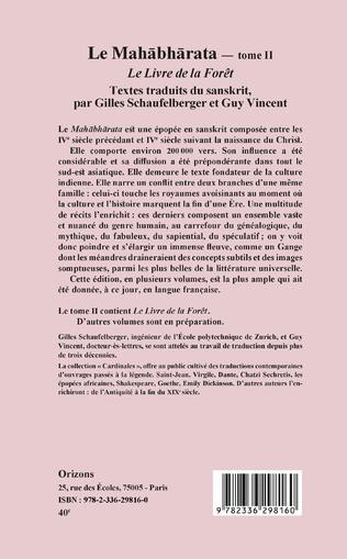 4eme Le Mahabharata - Tome II