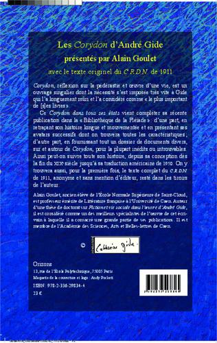 4eme Les'Corydon' d'André Gide