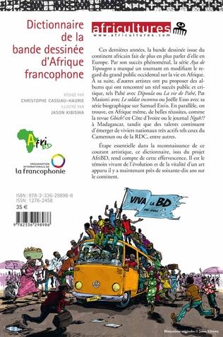 4eme Dictionnaire de la bande dessinée d'Afrique francophone
