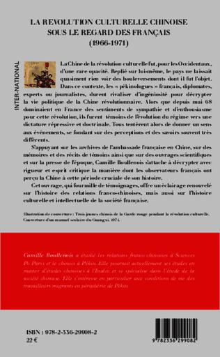 4eme La révolution culturelle chinoise sous le regard des français (1966-1971)