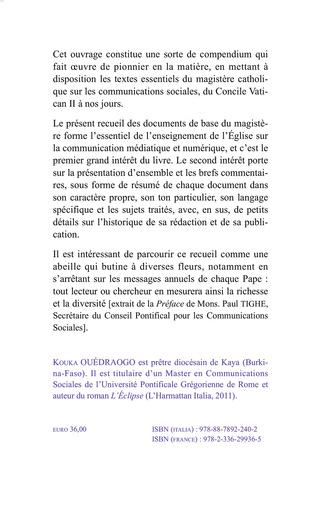 4eme Corpus du magistère romain sur les communications sociales