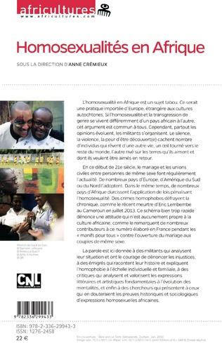 4eme Homosexualités en Afrique