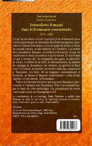 4eme Journalistes français dans la Roumanie communiste