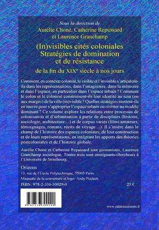 4eme (In)visibles cités coloniales