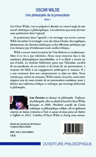 4eme Oscar Wilde (Tome 1)