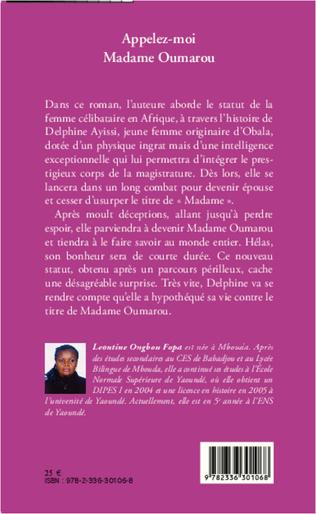4eme Appelez-moi Madame Oumarou