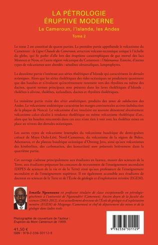 4eme La pétrologie éruptive moderne (Tome 2)
