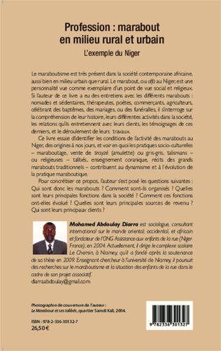 4eme Profession : marabout en milieu rural et urbain