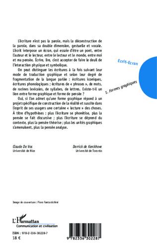 4eme Ecrit-Ecran (Tome 1)