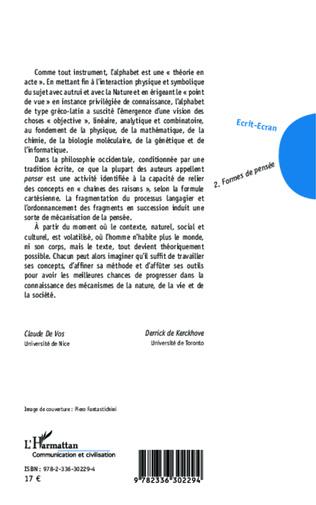 4eme Ecrit-Ecran (Tome 2)
