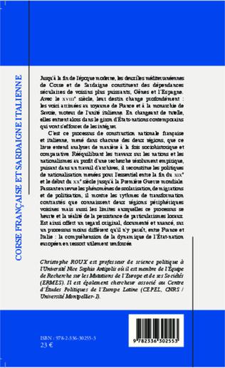 4eme Corse française et Sardaigne italienne