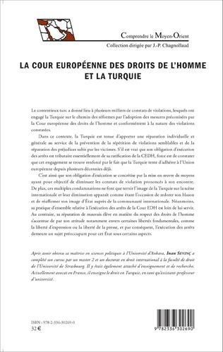 4eme La Cour européenne des droits de l'homme et la Turquie
