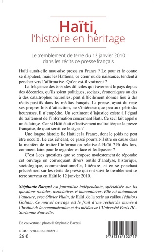 4eme Haïti, l'histoire en héritage