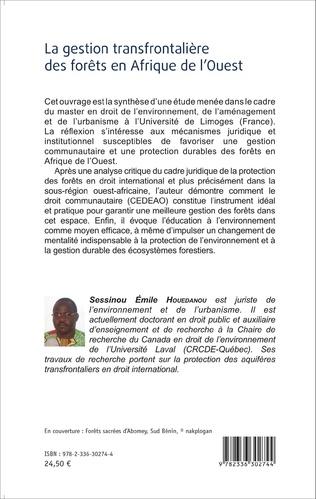 4eme La gestion transfrontalière des forêts en Afrique de l'Ouest