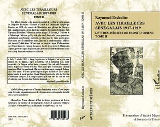 4eme Avec les tirailleurs sénégélais 1917-1919 - Tome 2