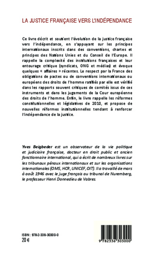 4eme La justice française vers l'indépendance