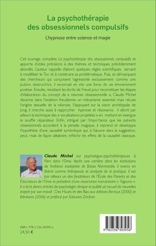 4eme La psychothérapie des obsessionnels compulsifs - Tome 2