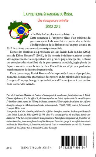 4eme Politique étrangère du Brésil