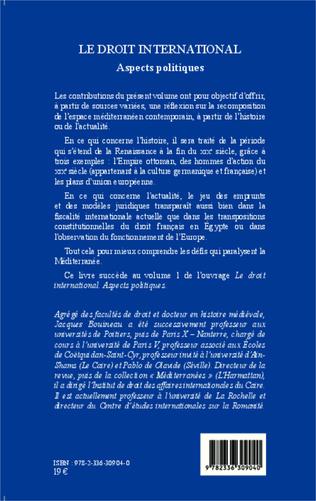 4eme Le droit international. Aspects politiques