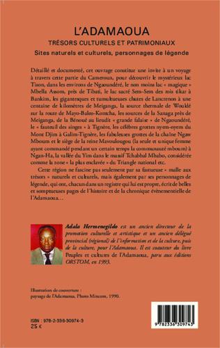 4eme L'Adamaoua Trésors culturels et patrimoniaux Tome 2
