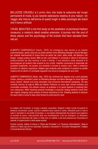 4eme Bellezze Crudeli.Tradizione, traduzione e tradimento del mito della moda negli spazi museali permanenti