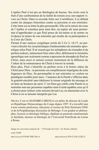 4eme Le triomphe du Christ et le parfum de sa connaissance. Une étude exégético-théologique