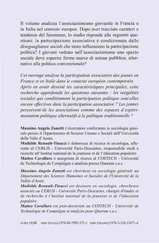 4eme La partecipazione associativa giovanile in Francia e in Italia